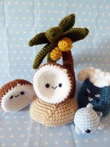 kawaii llaveros crochet-ideas-otakulandia.es. (4)