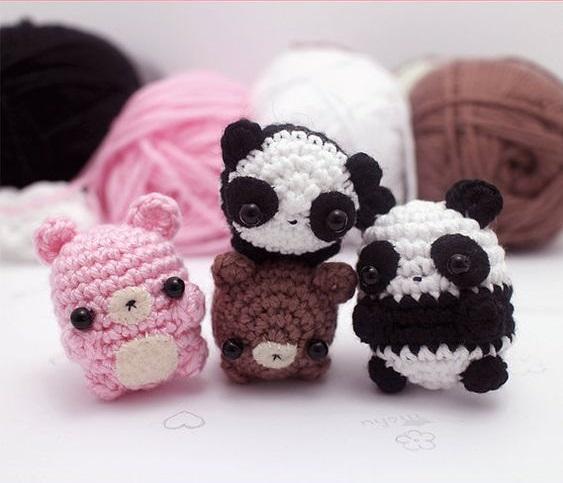 kawaii llaveros crochet-ideas-otakulandia.es. (6)