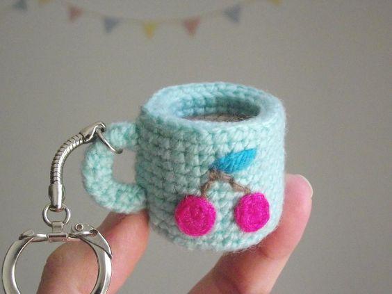 kawaii llaveros crochet-ideas-otakulandia.es. (7)