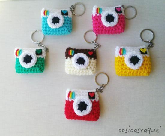 kawaii llaveros crochet-ideas-otakulandia.es. (9)