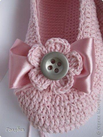linda zapatilla crochet-otakulandia.es