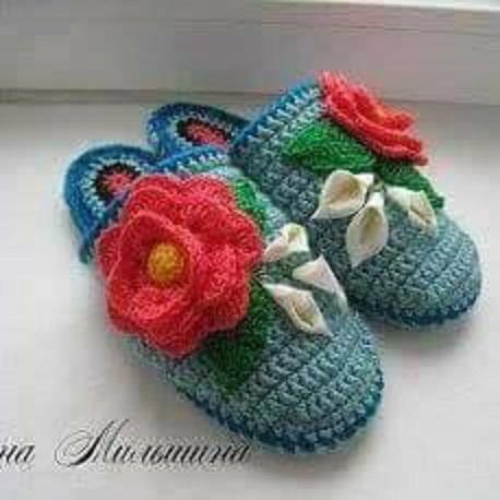 linda zapatilla crochet-otakulandia.es (10)