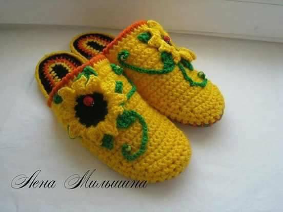 linda zapatilla crochet-otakulandia.es (12)