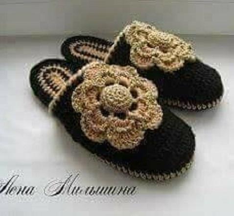 linda zapatilla crochet-otakulandia.es (21)