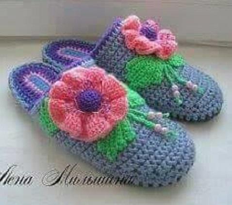 linda zapatilla crochet-otakulandia.es (24)
