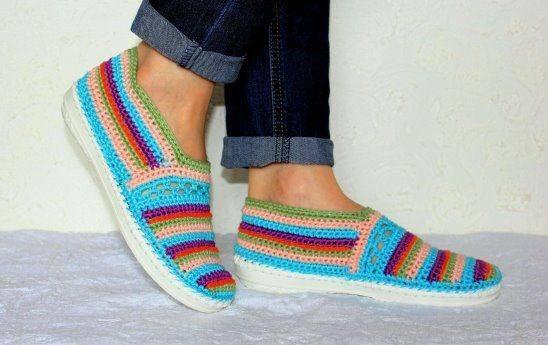 linda zapatilla crochet-otakulandia.es (26)