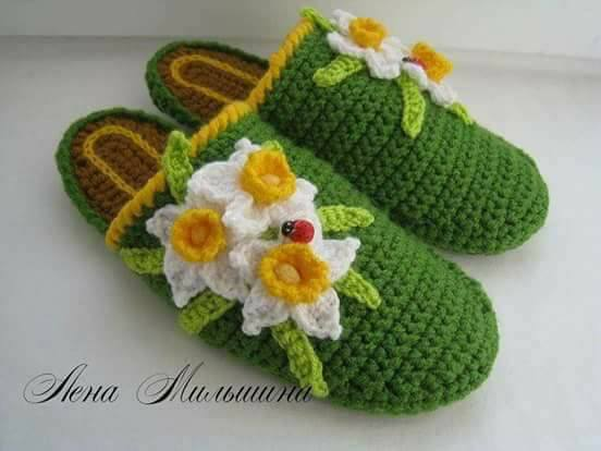 linda zapatilla crochet-otakulandia.es (5)