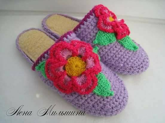linda zapatilla crochet-otakulandia.es (7)