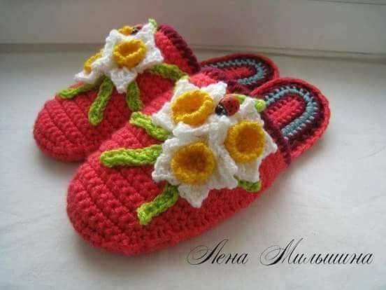 linda zapatilla crochet-otakulandia.es (8)