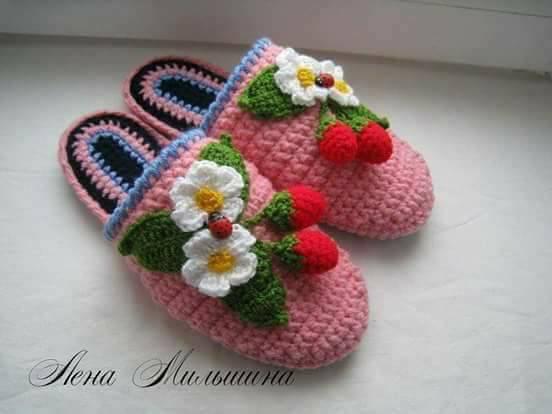 linda zapatilla crochet-otakulandia.es (9)