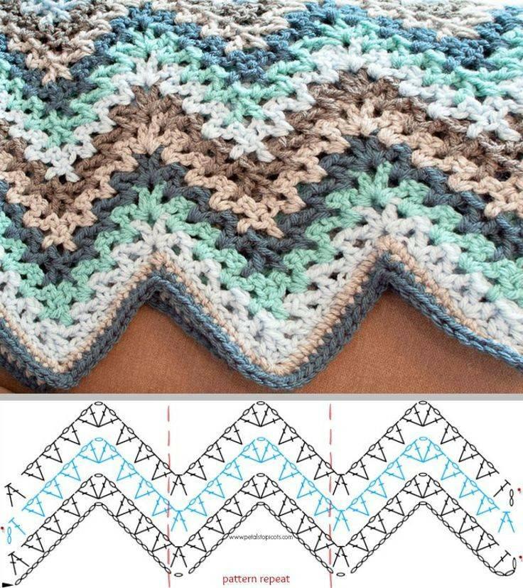 manta crochet ondulada-tutorial-esquema-patron-otakulandia.es (6)