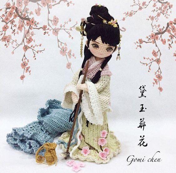 Muñecas Orientales Colección-Crochet | Otakulandia.es