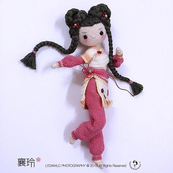 muneca oriental crochet-otakulandia.es  (6)