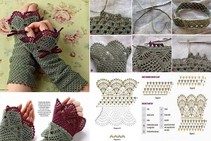 patron mitones-guantes-crochet-otakulandia.es