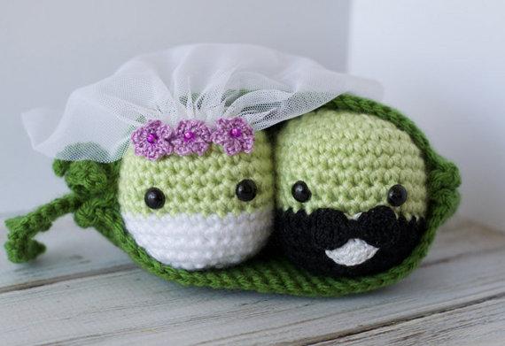 souvenir boda novios crochet-otakulandia.es