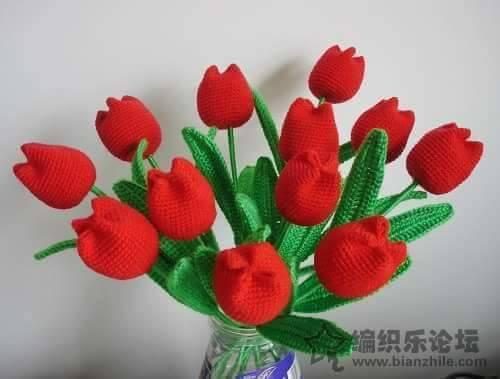 tulipan crochet paso a paso-otakulandia.es (1)