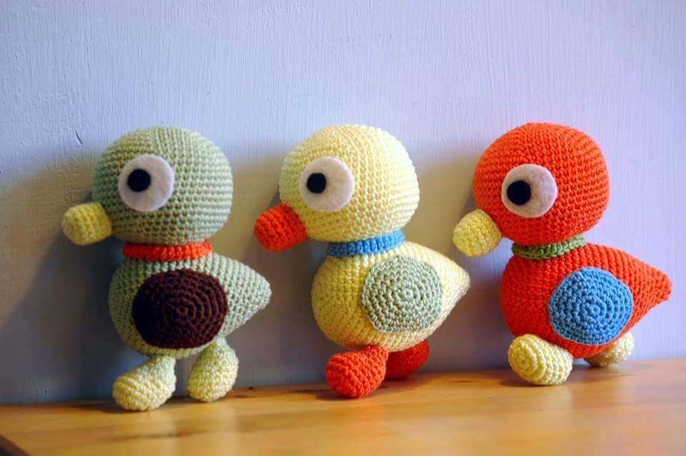 Aves y pajaritos crochet-otakulandia.es (1)