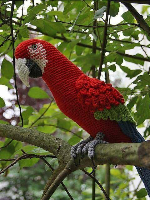 Aves y pajaritos crochet-otakulandia.es (13)