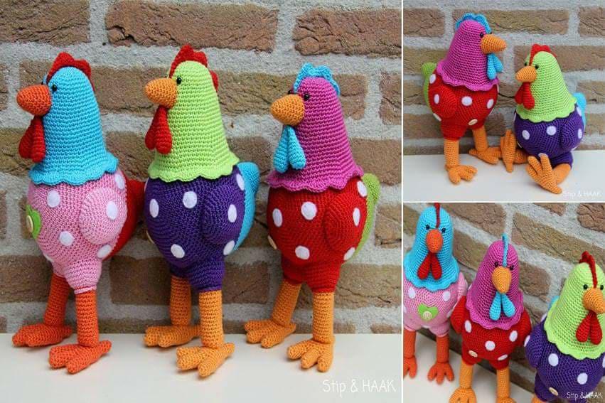 Aves y pajaritos crochet-otakulandia.es (14)