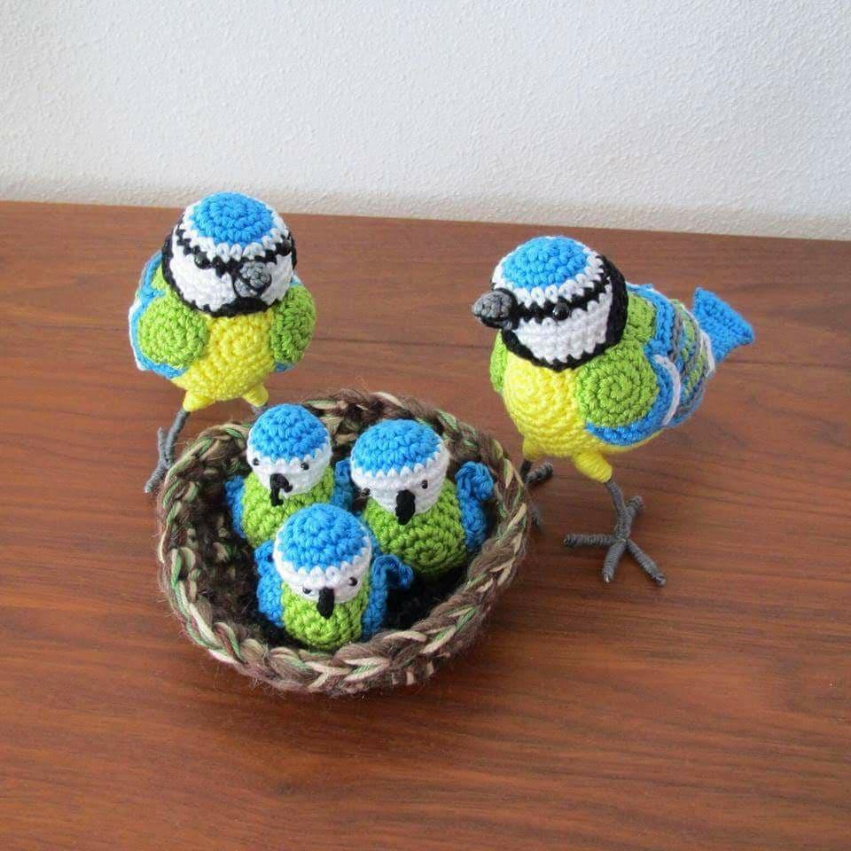 Aves y pajaritos crochet-otakulandia.es (16)