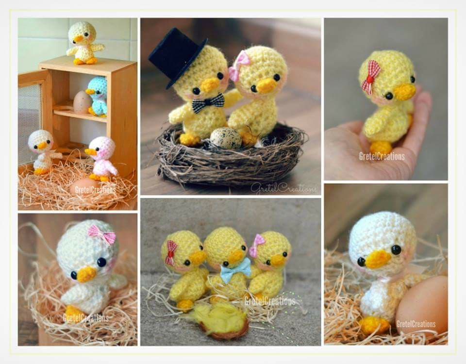 Aves y pajaritos crochet-otakulandia.es (21)