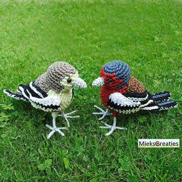 Aves y pajaritos crochet-otakulandia.es (22)