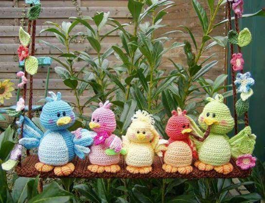 Aves y pajaritos crochet-otakulandia.es (3)