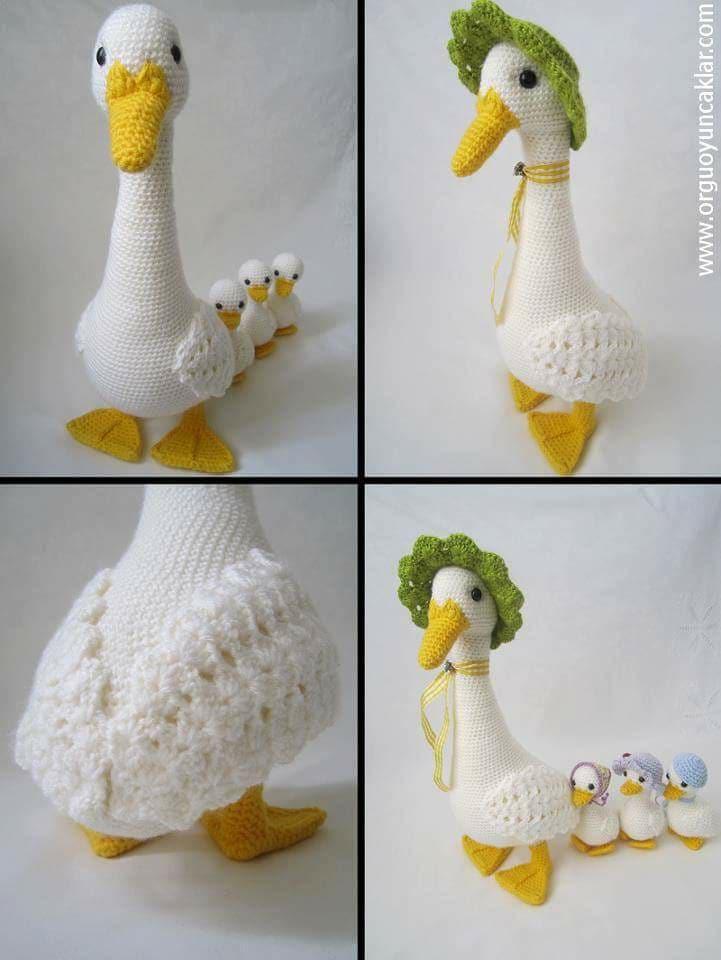 Aves y pajaritos crochet-otakulandia.es (5)