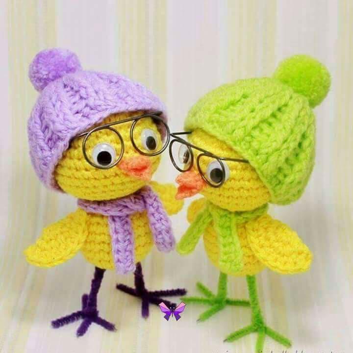Aves y pajaritos crochet-otakulandia.es (6)