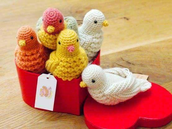 Aves y pajaritos crochet-otakulandia.es (7)