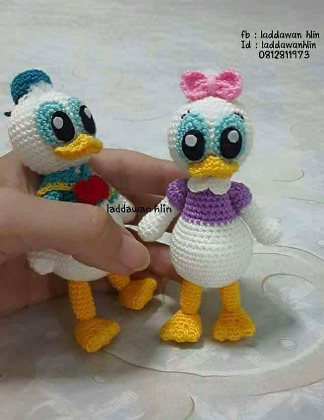 Aves y pajaritos crochet-otakulandia.es (8)