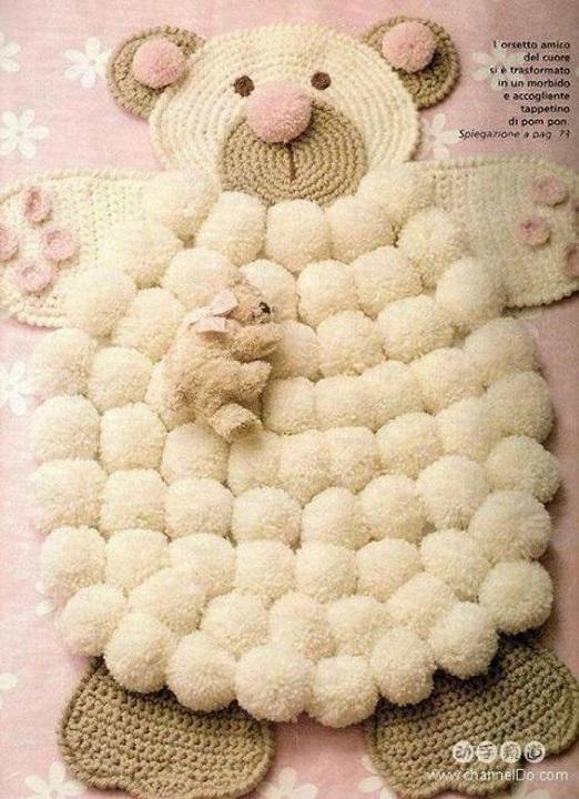alfombra crochet-pompon-otakulandia.es (26)