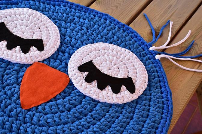 125 Alfombras y Cojines de Crochet ¡Flipantes!