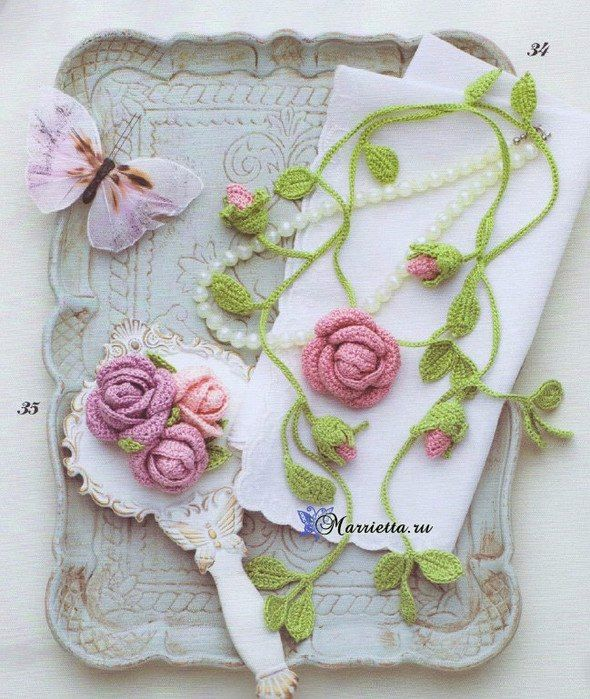 collar crochet-otakulandia.es
