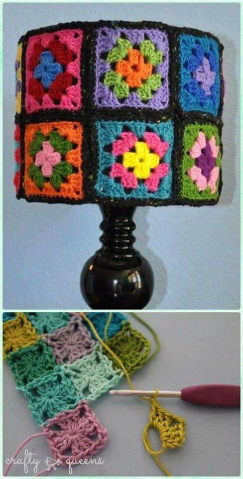lampara crochet-decoracion-otakulandia.es. (2)
