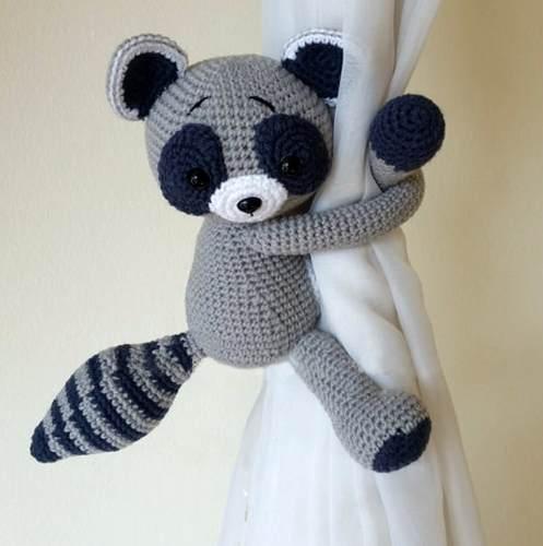 51 Prendedores Cortinas Crochet