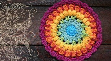 tutorial mandala-crochet-otakulandia.es