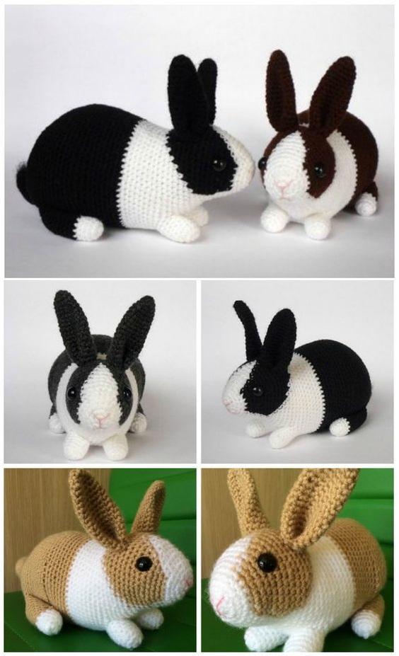 animales fabulosos crochet-otakulandia.es (2)