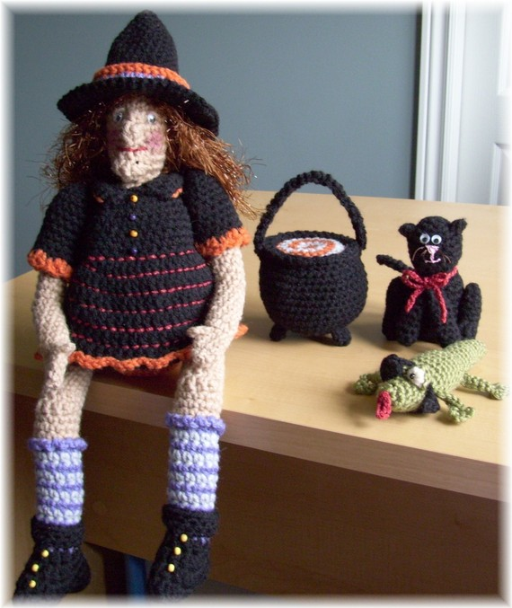 halloween crochet-otakulandia.es (11)