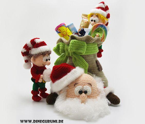 navidad amigurumis-otakulandia.es