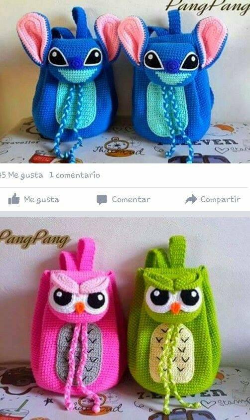 ninos-mochila-bolso crochet-otakulandia.es (41)