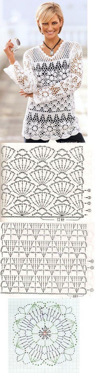 blusa navidad crochet-esquema-otakulandia.es (6)