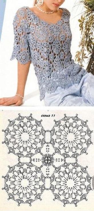blusa navidad crochet-esquema-otakulandia.es (7)