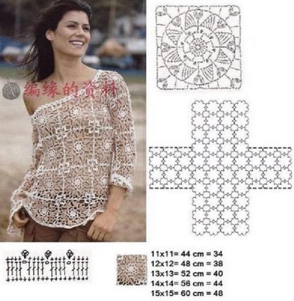 blusa navidad crochet-esquema-otakulandia.es (9)