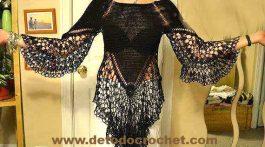 bluson negro-navidad-crochet-otakulandia.es (1)