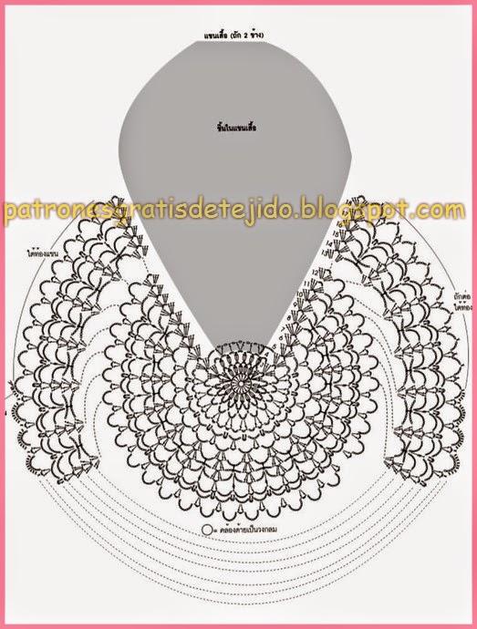 bluson negro-navidad-crochet-otakulandia.es (5)
