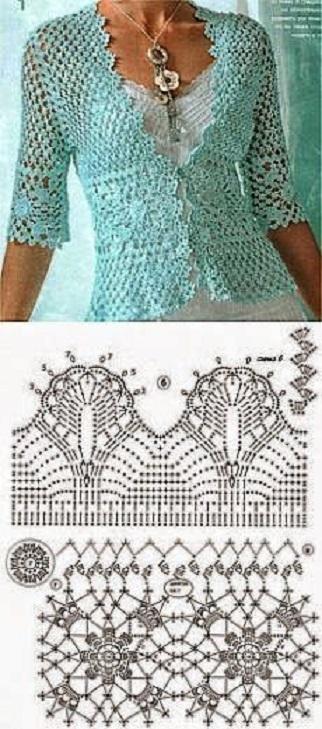 chaqueta-torera-navidad-crochet-otakulandia.es