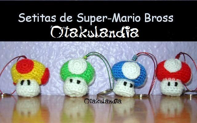 llaveros crochet-otakulandia.es
