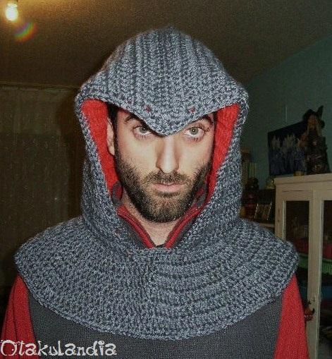 Capucha assassins cread-crochet-otakulandia.es