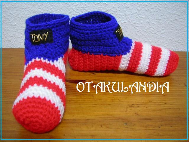 pantuflas atletico madrid crochet-otakulandia.es